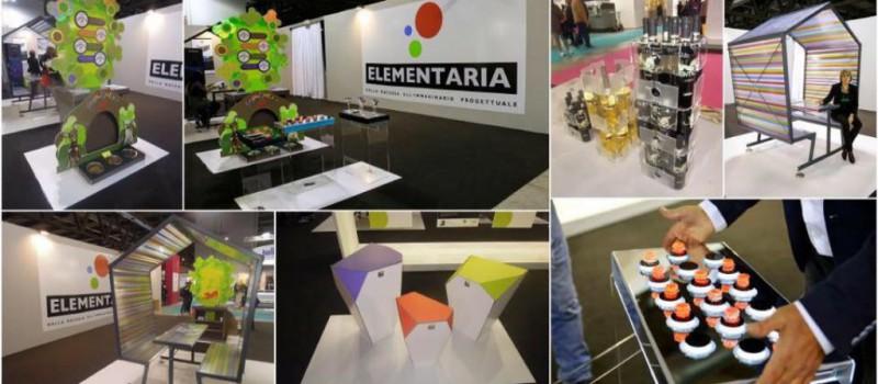 Elementaria 2016, modello innovativo per display design e raw material