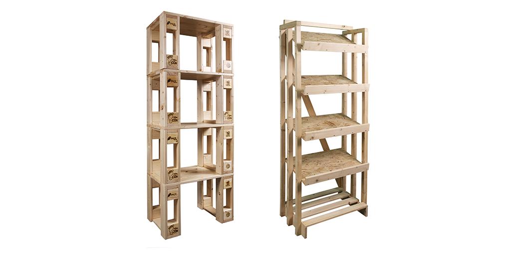 Sostenibilità in legno
