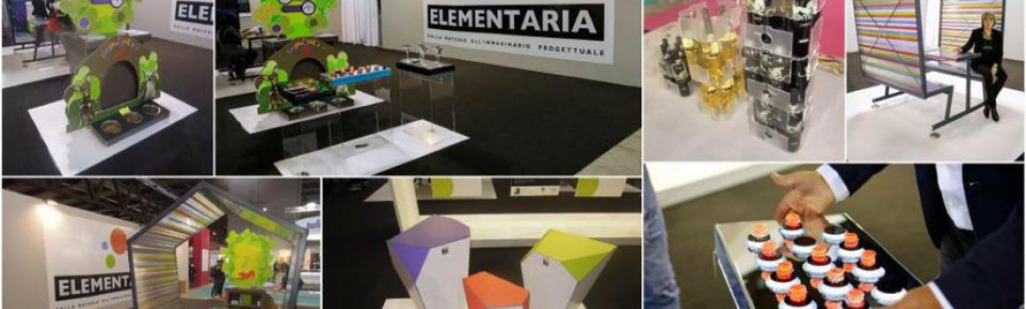 Elementaria 2016, modello innovativo per display design e raw material