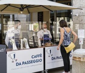 Lavazza Coffee Station per asporto e delivery. kit per 10.000 locali
