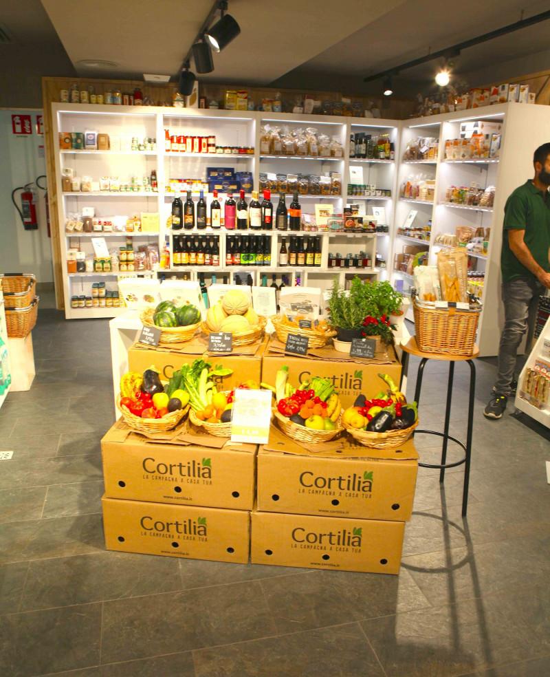 Il primo negozio fisico di Cortilia