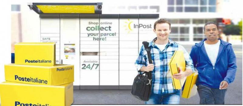 Poste Italiane adotta i locker InPost per 14 milioni di pacchi al mese