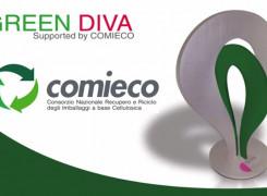 COMIECO patrocina GREEN DIVA per il display Design sostenibile