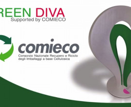 COMIECO patrocina GREEN DIVA per il display Design sostenibile