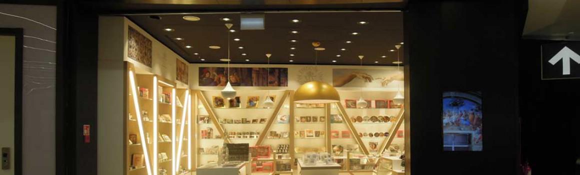 Musei Vaticani: retail design multimarca