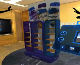 ambienti virtuali condivisi per display test 3D con meeting reality