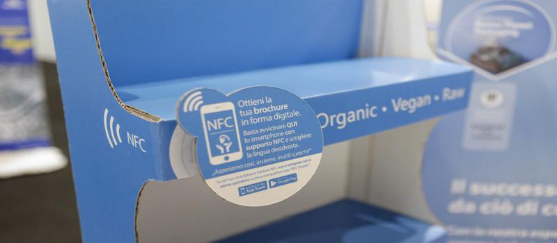 Smurfit Kappa: inserisce tag NFC nell'eco pall box Vitaina