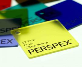 Lucite Acrylic Sheet acquisita da STAG per 3A con Perspex