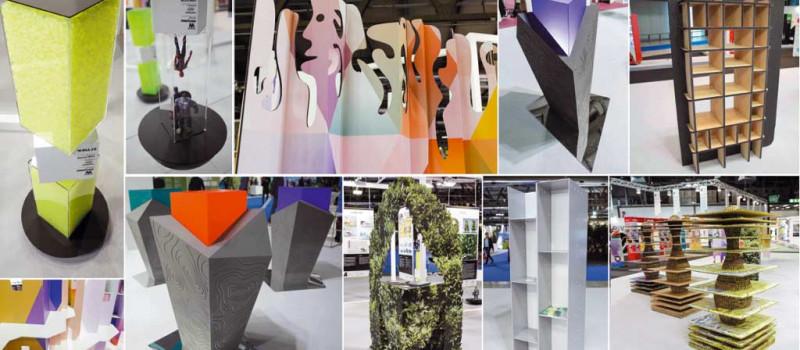 Elementaria 2019 mostra di materie prime e prototipi per display design (video e foto)